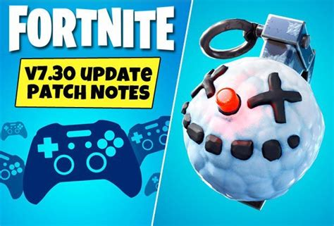 fortnite  update patch notes chiller grenade leaked