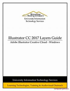 Pdf  Illustrator Cc 2017 Layers Guide Free Tutorial For
