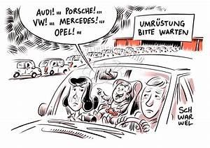 Mercedes Benz Diesel Skandal : schwarwel karikatur ~ Kayakingforconservation.com Haus und Dekorationen