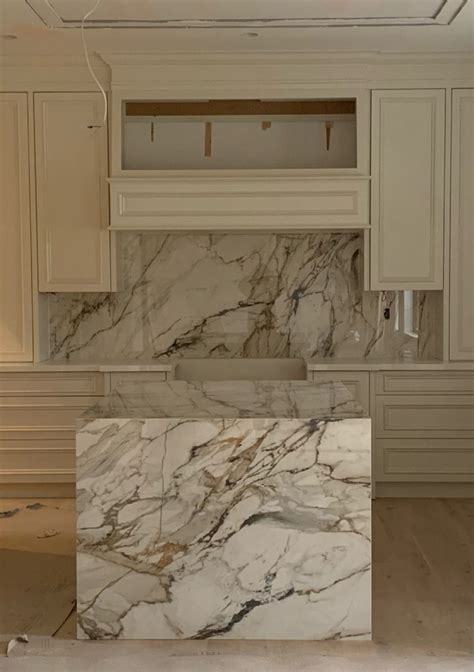 kitchen neolith calacatta luxe marble trend marble