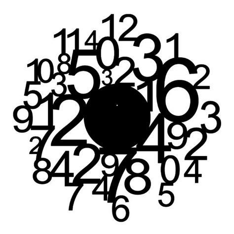 Große Uhr Wand by Wandtattoo Uhr Zahlenmix Wandtattoos Uhren