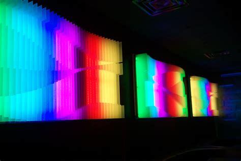 textured surface 3d wall custom led lit 3d wall panel custom order