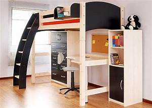 Lit Mezzanine 2 Places Avec Bureau : lit mezzanine avec bureau int gr 29 id es pratiques ~ Melissatoandfro.com Idées de Décoration