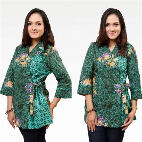 model baju batik danar hadi  wanita modern