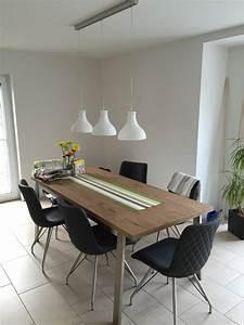 Esstisch Lampe Design : esstisch nurda einfamilienhaus massiv hausbau in otze ~ Markanthonyermac.com Haus und Dekorationen