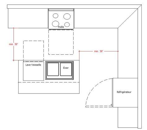 norme gaz cuisine planifier une cuisine ergonomique
