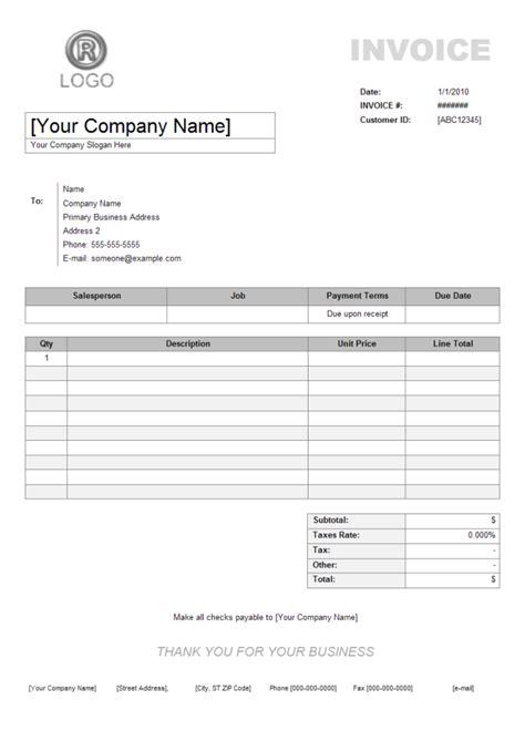 service invoice  service invoice templates