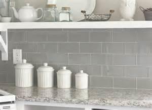 gray glass subway tile transitional kitchen valspar