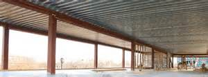 steel deck roof composite architectural new millennium