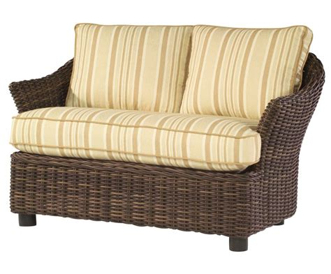 smach sonoma all weather wicker chair and a half