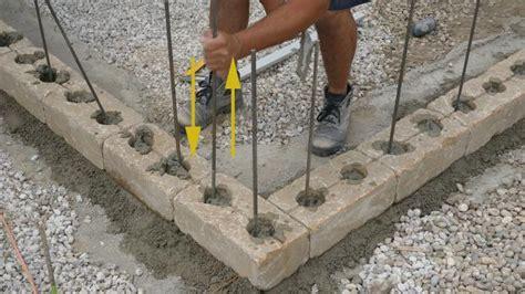 betonsteine selber machen beton gartenmauer gartenmauer selber bauen das errichten