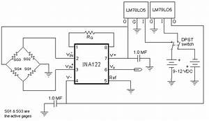 Load Cell Differential Circuit Usb 6009