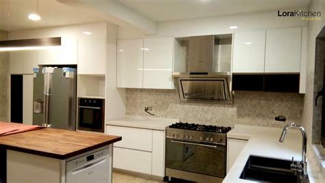 no cabinet kitchen design stunning modern kitchen cabinet design in malaysia lora