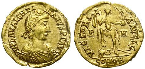 Solidus Ma valentinian iii gold solidus rome mint ma shops