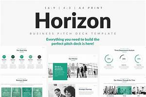 Horizon Business Pitch Deck PowerPoint, Keynote and Google ...