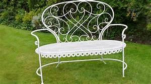 Salon De Jardin Romantique : banc de jardin en bois patine turquoise antique ~ Dailycaller-alerts.com Idées de Décoration