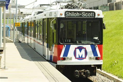 St Louis Light Rail metrolink st louis