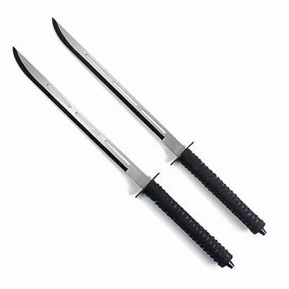 Ninja Sword Dual Swords Twin Karatemart Sheath