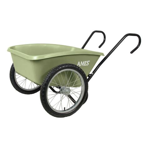 2 wheel garden cart ames total handle garden cart bicycle style 2 3824