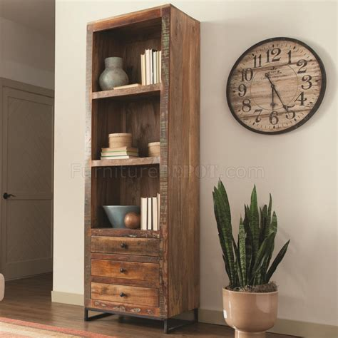 800819 Bookcase By Coaster In Reclaimed Wood