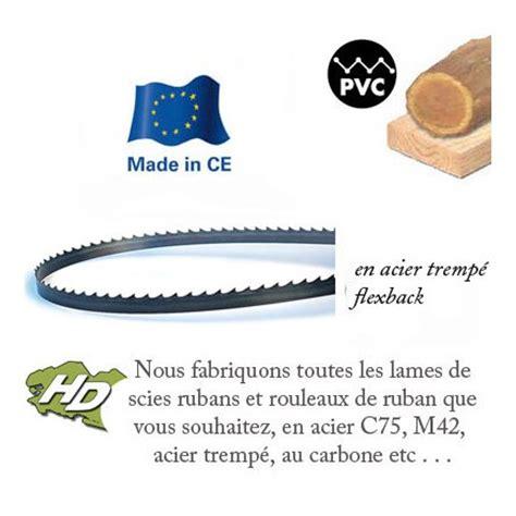 lame scie a ruban lame scie ruban bois 4550x32mm hd outillage
