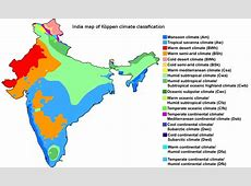 FileIndia map of Köppen climate classificationsvg