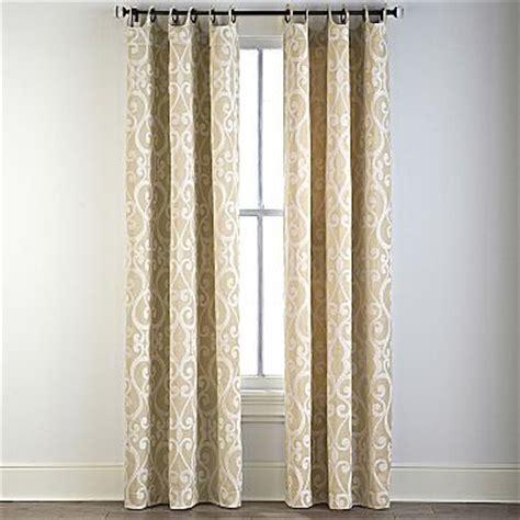 jcpenney grommet kitchen curtains style 174 palais grommet top drapery panel