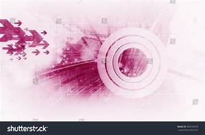 Technology Background 3d Rendering Stock Illustration ...