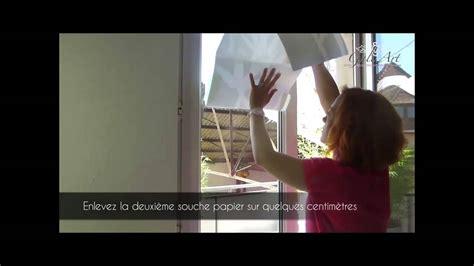 stickers vitres cuisine comment poser un sticker dépoli sur une vitre pose de