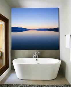 Décoration Murale Salle De Bain : d co petite salle de bain salle de bain de d co artistique ~ Teatrodelosmanantiales.com Idées de Décoration
