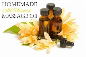 A Simple Method For Making Your Own Massage Oil