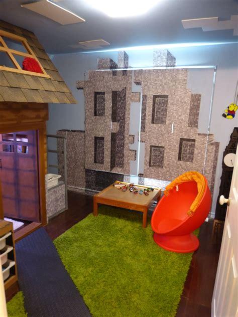 bedroom created     minecraft village created