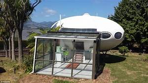 Home shaped like flying saucer on sale in New Zealand ...