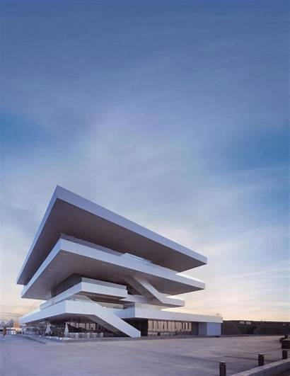 Architecture Animated Buildings Axel Gifs Stampa Building