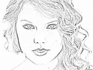 Taylor Swift Coloring Pages Bestofcoloringcom