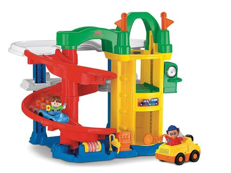 Fisher Price Little People Racin Ramps Garage Review