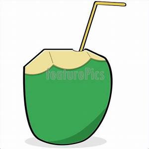 Illustration Of Coconut Water