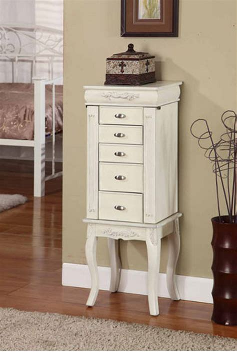 White Jewelry Armoire by Top 7 White Jewelry Armoires For Your Bedroom
