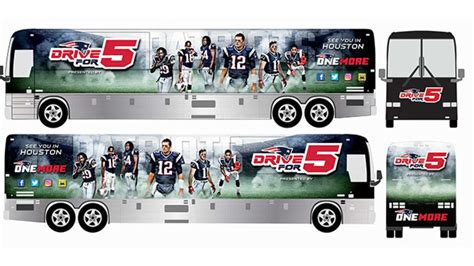england patriots drive bus rolls wednesday