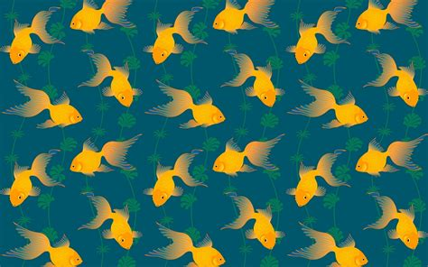 Wallpaper Pattern by Gold Fish Pattern Wallpapers Gold Fish Pattern Stock Photos