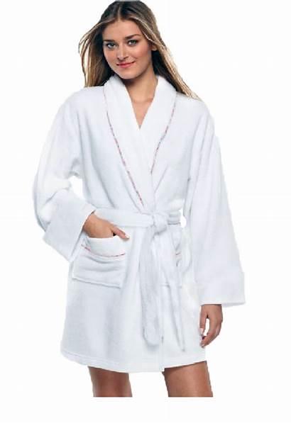 Robe Short Cotton Bath Spa Pockets Robes