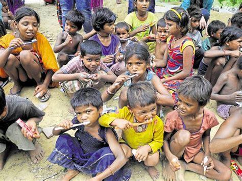 students impart lessons  hygiene  slum kids  gurgaon