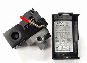 Air Compressor Pressure Switch 95 125 Psi  4 Port  1  4 U0026quot