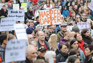 Vancouver protesters rally against Tories' Bill C-51