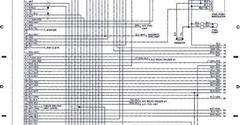 Subaru Mpfi Control Unit Fuel Pump Relay System