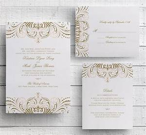 blush pink and gold invitations diy wedding invitation With diy wedding invitations printing templates