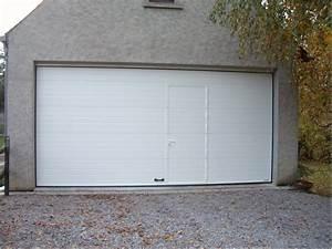 dimension standard porte de garage basculante obasinccom With porte de garage sectionnelle motorisée hormann