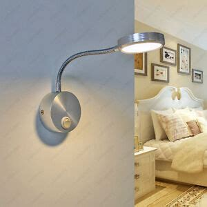 3w led wall sconce light indoor l on switch