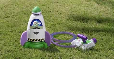 The Toy Story 3 Buzz Lightyear Rocket Blast Sprinkler Is A