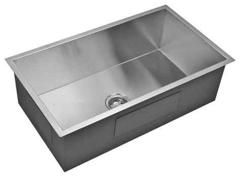 33x19 single bowl kitchen sink 33 quot x 19 quot zero radius single bowl stainless steel